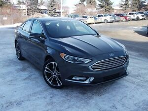 2017 Ford Fusion TITANIUM AWD CERTIFIED PRE OWNED!