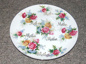 Norcrest Mother Plate B-236 - $15.00