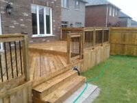 DECKS AND FENCES Barrie and area