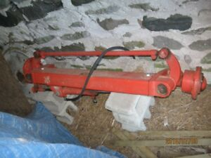 custom front axle for heavier pulling tractor