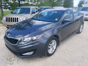 2013 Kia Optima. K5. 2.4.  4cyl. Heated seats.  MB car.  $8,900.