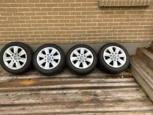 Winter tires from BMW with rims 205/55 R16