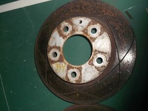 Ventilated  brake discs for mazda Protege for sale