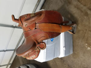 Gently used Australian Outback saddle for sale