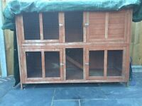 Bluebell Hideaway Rabbit Hutch