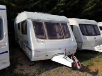 2003 Swift Charisma 570 6 Berth Fixed Rear Bunks Caravan