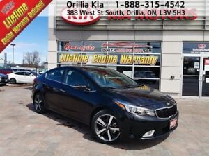 2017 Kia Forte SX Navigation, Heated Front and Rear Seats