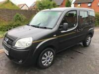 2007 Fiat Doblo 1.3 Multijet 16v Active 12 Stamps 2 Keys LONG MOT 07-2019