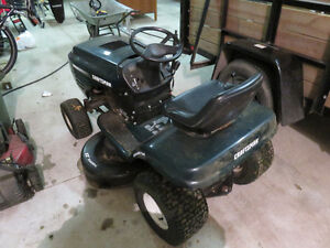 Craftsman 42 inch Lawn Tractor and Dump Trailer