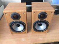 Monitor audio br1 bookshelf speakers