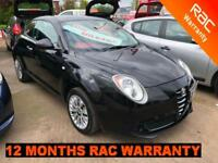 2010 Alfa Romeo MiTo 1.4 16v 78bhp only 55'000 miles FINANCE AVAILABLE