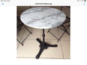 Tables de terrasses
