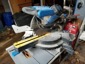"Mastercraft 10"" sliding mitre saw"