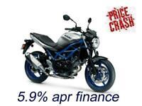 New 2020 Suzuki SV650 SV-650 all colours, save 652, 5.9% APR finance