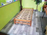Low Pine Single Bedframe -Can Deliver For £19