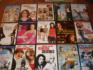 15 Chick Flicks and Kid movies for $10.