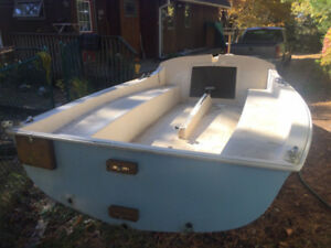 Sailboat Paceship 17 ft and Trailer