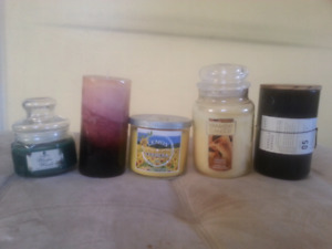 Yankee and others candles lot