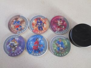2004 CANADA POST NHL ALL STAR COASTER SET WITH COLLECTOR TIN