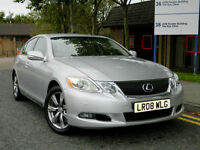 2008 08 Lexus GS 300 3.0 SE CVT 4dr WITH FSH+KEYLESS ENTRY+NAV+CAM