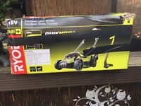 Ryobi ONE+ 18V Cordless Lawnmower and Trimmer