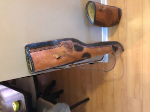 Gun - Rifle case Leather made in Mexico $50