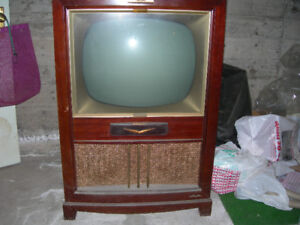 Antique RCA Victor Black and white TV from the 1950's