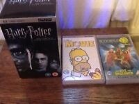 Harry Potter boxed psp movie set & the Simpsons movie & scooby doo