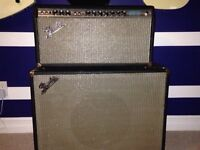 Vintage 1971 Fender Bandmaster and Cabinets