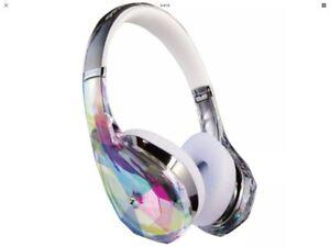 Monster Diamond Tears Edge On-Ear Headphones (Crystal