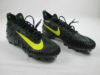 Nike - Black/Yellow/Green Cleats (Men's 12) - Used