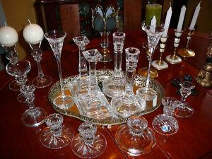 Splendides chandeliers cristal, verre et autre, de haute qualité