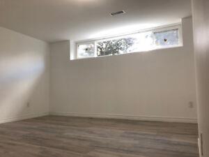 1 bedroom basement apartment for rent near Bramela and Steeles