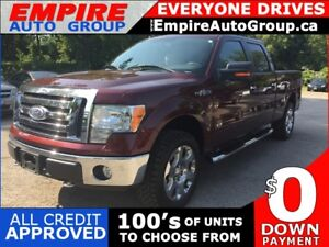 2009 FORD F-150 XLT * 4WD * 1 OWNER SINCE NEW