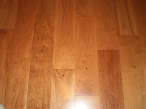 American Cherry Select Grade hardwood flooring - 10 full boxes