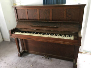Upright piano in Madawaska Valley needs new home