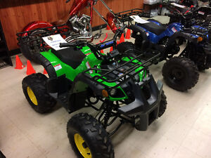 3 YEAR WARRANTY FAMILY AFFORDABLE GAS & ELECTRIC ATVS