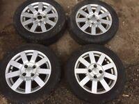 Ford Fiesta/ka/puma. alloy wheels