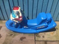 Little Tikes ride on Police Bike See Saw