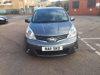 Nissan note 2011 Diesel full service history manual 1.5 low mileage good condition