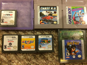 Ds games and game boy games