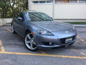 2005 Mazda RX-8 4dr Sdn Manual GT , One Owner, Leatherm Sunroof
