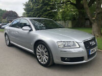2006 AUDI A8 SPORT 3.0 TDI QUATTRO AUTOMATIC SILVER **OUTSTANDING CONDITION**