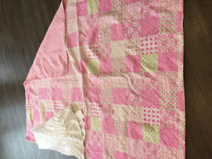 Quilt and Bed Skirt
