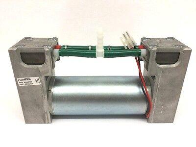 New Thomas Dual Double Diaphragm Vacuum Pump 24v W German Made Dunkermotoren