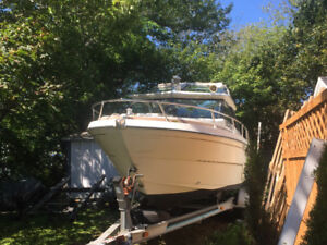 1978 21ft  glastron with 350 inboard trailer not included