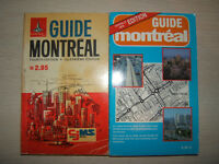 Vintage Montreal Map and Books