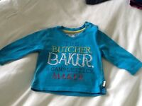 Baby boys 3-6 month long sleeve Ted Baker