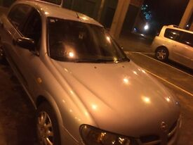 Nissan Almera s 1.5 cheap and easy to run