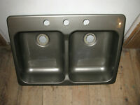 DOUBLE SINK FOR RV
